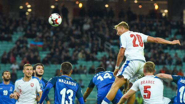 Отборочный матч Чемпионата мира - 2018 по футболу между сборными Азербайджана и Чехии - Sputnik Азербайджан