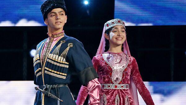 Эмоции от выступления участников Ты супер! Танцы от Азербайджана - Sputnik Азербайджан