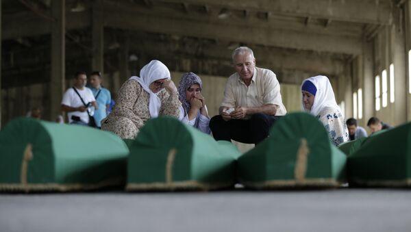 Srebrenitsa qətliamı. Arxiv şəkli - Sputnik Azərbaycan