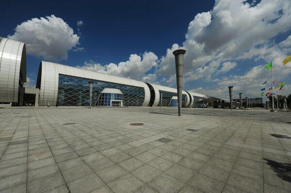 Выставочный центр в Ордосе - Sputnik Азербайджан
