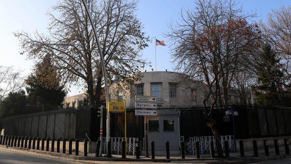 ABŞ-ın Ankaradakı səfirliyi - Sputnik Azərbaycan