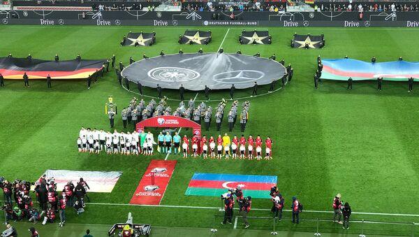 Отборочный турнир чемпионата мира по футболу в зоне УЕФА. Матч Германия-Азербайджан - Sputnik Азербайджан