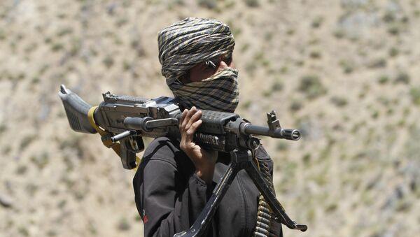 Бойец движения Талибан, фото из архива - Sputnik Азербайджан