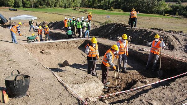 При прокладке TANAP обнаружены древнеримские артефакты - Sputnik Азербайджан