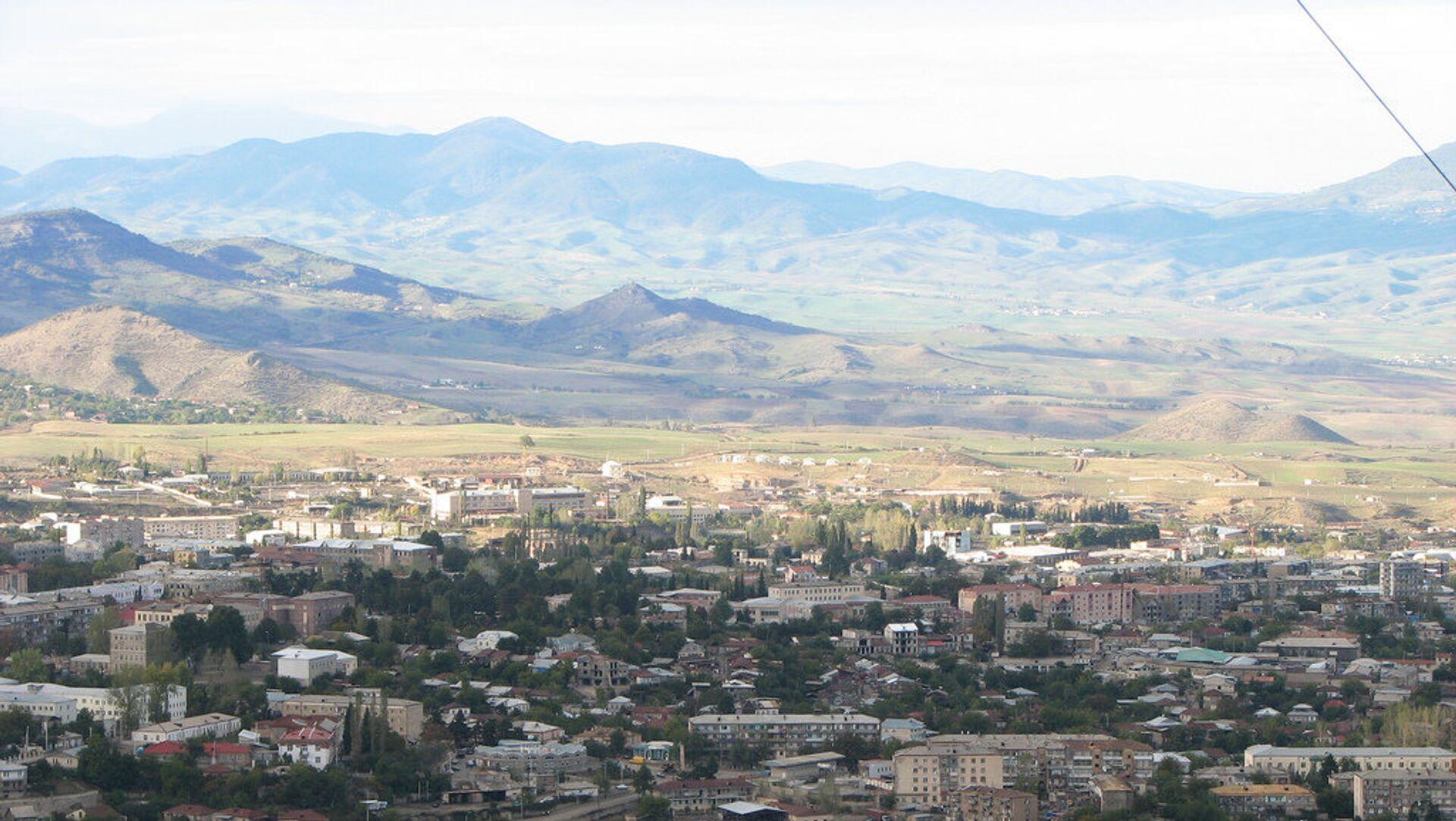 Вид на город Ханкенди, фото из архива - Sputnik Азербайджан, 1920, 11.03.2021