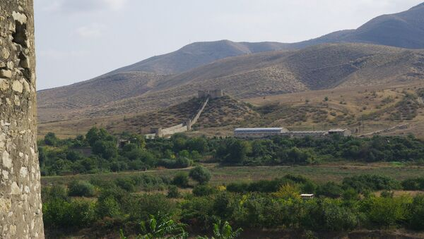 Аскеранская крепость в оккупированном Аскеранском районе Азербайджана, фото из архива  - Sputnik Азербайджан