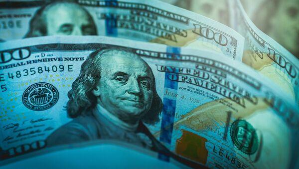 Доллары, фото из архива - Sputnik Azərbaycan