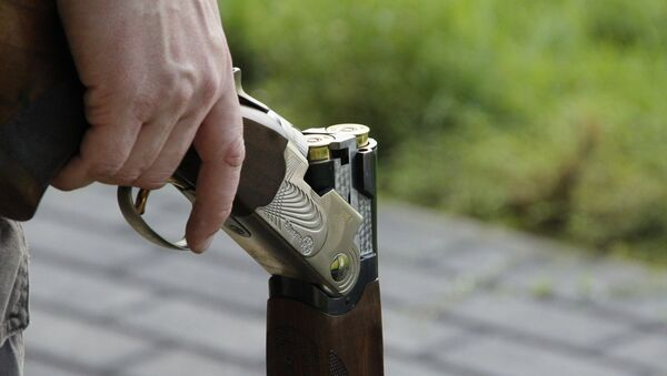 Охотничье ружье, фото из архива - Sputnik Азербайджан