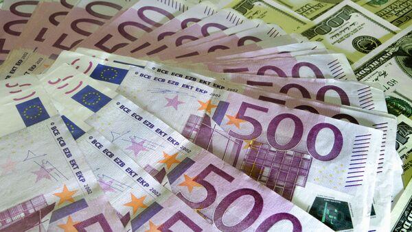 Евро, доллар - Sputnik Азербайджан