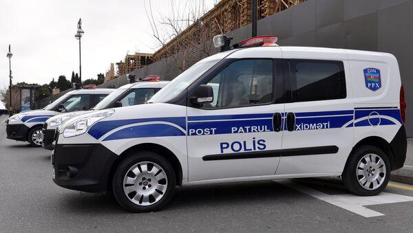 Полицейская машина, архивное фото - Sputnik Азербайджан