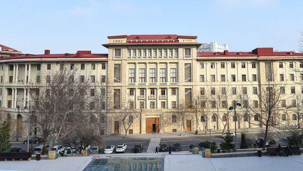 Кабинет министров Азербайджанской Республики. Архивное фото - Sputnik Azərbaycan