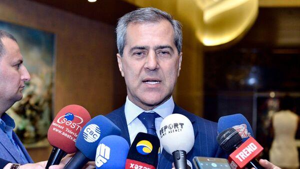 Председатель Государственного комитета по работе с диаспорскими организациями АР Назим Ибрагимов, фото из архива - Sputnik Azərbaycan