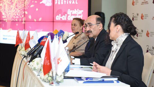 Пресс-конференция посвященная II шопинг фестивалю в Баку - Sputnik Азербайджан