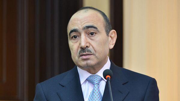 Али Гасанов, помощник Президента Азербайджана по общественно-политическим вопросам - Sputnik Azərbaycan