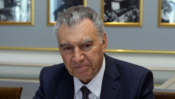Председатель Госкомитета Азербайджана по делам беженцев и вынужденных переселенцев Али Гасанов - Sputnik Азербайджан