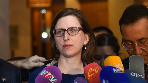 ABŞ müdafiə nazirinin köməkçisinin müavini vəzifəsini icra edən Laura Kuper - Sputnik Azərbaycan
