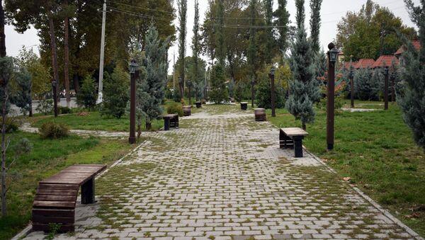 Парк дружбы Азербайджан-Франция в центре Исмаиллы - Sputnik Азербайджан