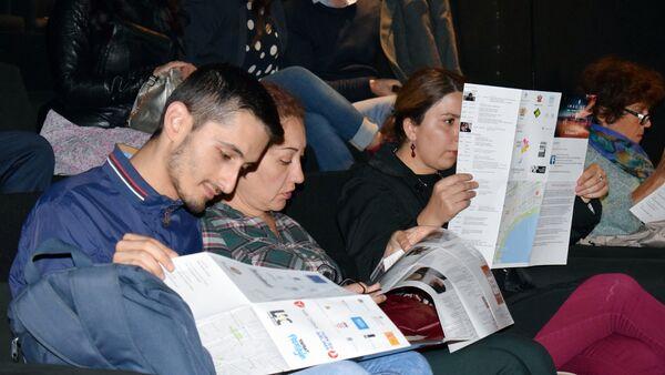 Открытие первого международного фестиваля документального кино DokuBaku - Sputnik Азербайджан
