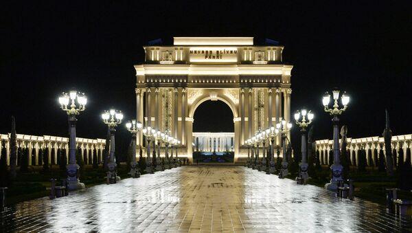 Парк Гейдара Алиева в Гяндже, фото из архива - Sputnik Азербайджан