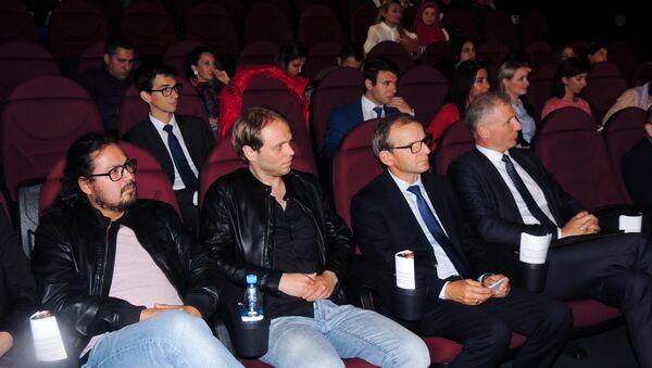 Открытие первого фестиваля европейской толерантности IMAGINE Euro Tolerance - Sputnik Азербайджан