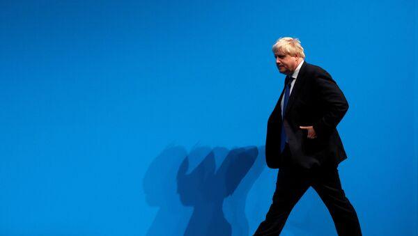 Министр иностранных дел Великобритании Борис Джонсон, фото из архива - Sputnik Азербайджан