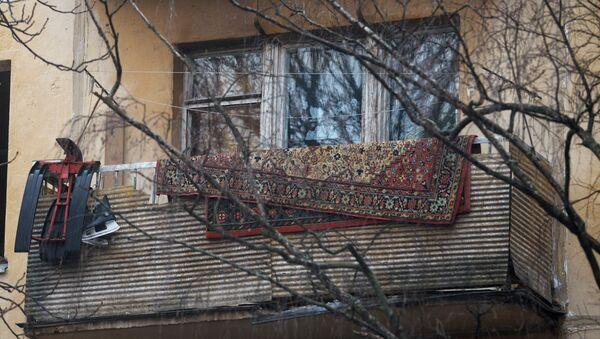 Балкон жилого дома, фото из архива - Sputnik Азербайджан