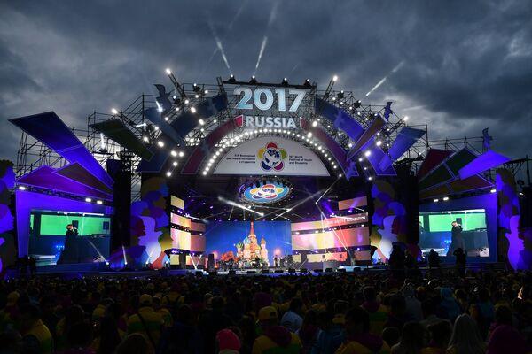 XIX Всемирный фестиваль молодежи и студентов. День первый - Sputnik Азербайджан