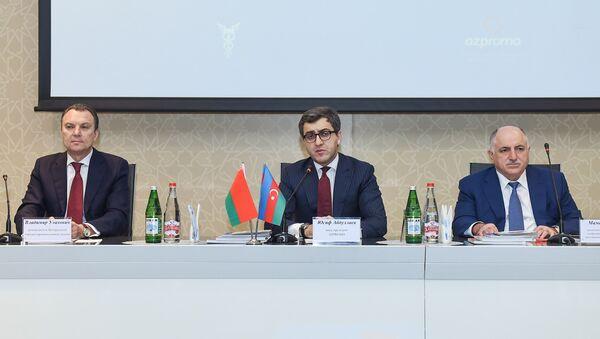 Азербайджано-белорусский бизнес форум в Баку - Sputnik Азербайджан