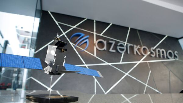 В офисе ОАО Azərkosmos - Sputnik Азербайджан