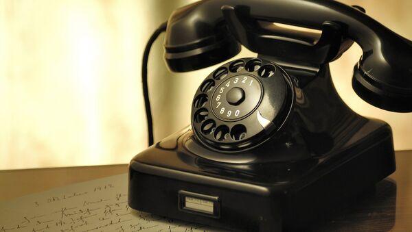 Stasionar telefon, arxiv şəkli - Sputnik Azərbaycan
