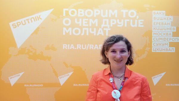 Евгения Шамис, основатель и координатор проекта RuGenerations  (Теория поколений в России), генеральный директор компании Sherpa S Pro - Sputnik Азербайджан