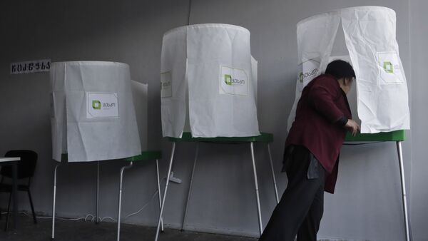 Выборы в Грузии - Sputnik Азербайджан