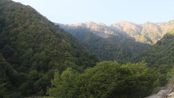 Qax rayonunun Qaşqaçay kəndi - Sputnik Azərbaycan