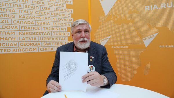 Известный художник Михаил Веременко в студии радио Sputnik - Sputnik Азербайджан