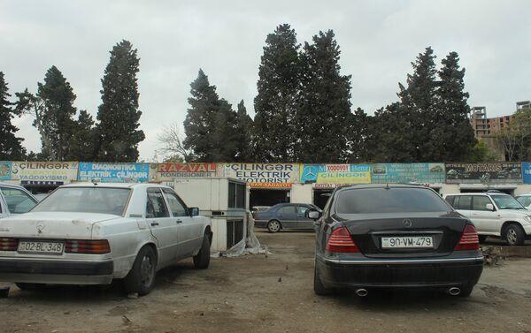 Вторичный рынок по продаже автомобильных запчастей - Sputnik Азербайджан