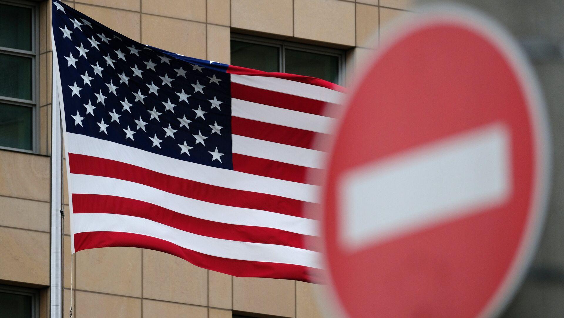 Флаг Соединенных Штатов Америки - Sputnik Azərbaycan, 1920, 24.09.2021