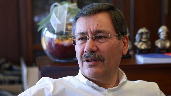 Ankara Büyükşehir Belediye Başkanı Melih Gökçek - Sputnik Azərbaycan