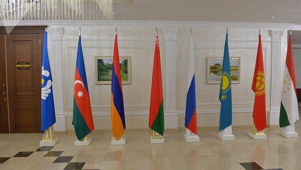 Флаги стран-участниц СНГ - Sputnik Азербайджан
