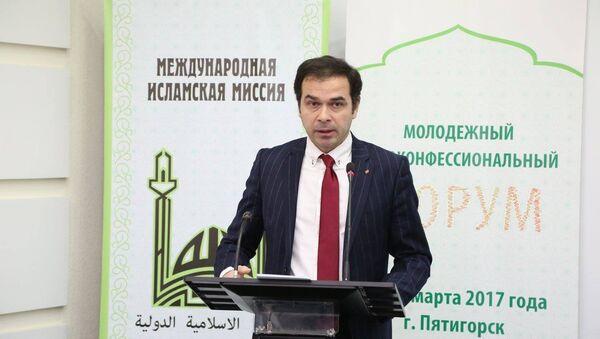 Артур Атаев, кандидат политических наук, руководитель сектора кавказских исследований РИСИ - Sputnik Азербайджан