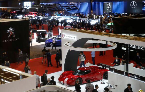 Международный автосалон Tokyo Motor Show 2017 - Sputnik Азербайджан