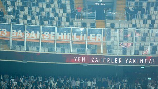 İstanbulun Başakşehir futbol klubunun azarkeşləri - Sputnik Azərbaycan