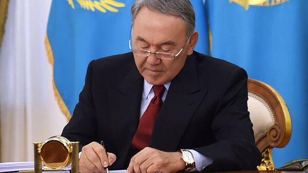 Нурсултан Назарбаев - Sputnik Азербайджан