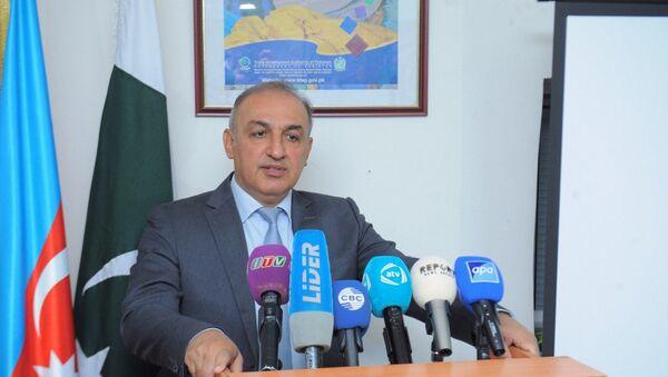 Посол Пакистана в Азербайджане Саид Хан Мохманд - Sputnik Азербайджан