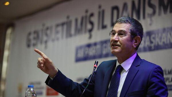 Türkiyənin müdafiə naziri Nurəddin Canikli - Sputnik Azərbaycan
