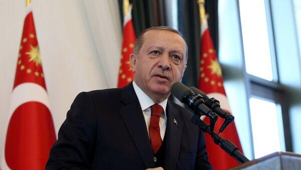 Президент Турции Тайип Эрдоган, фото из архива - Sputnik Азербайджан