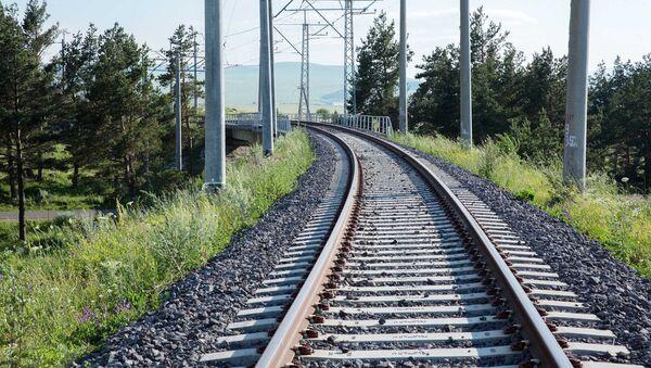 Bakı-Tbilisi - Qars dəmir yolu - Sputnik Azərbaycan