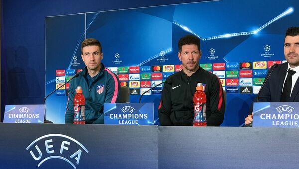 Пресс-конференция главного тренера испанского футбольного клуба Атлетико Диего Симеоне - Sputnik Азербайджан