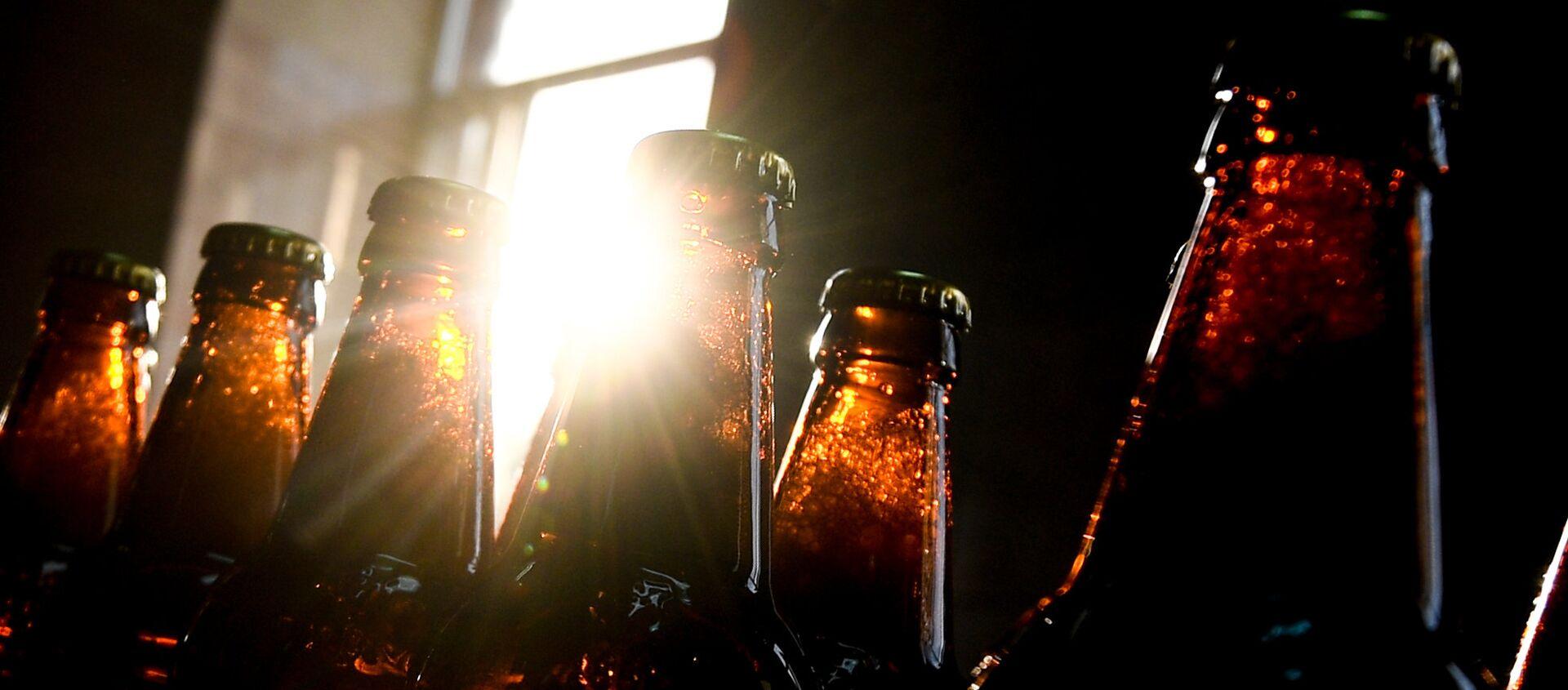 Бутылки с алкогольными напитками, фото из архива - Sputnik Азербайджан, 1920, 07.01.2020