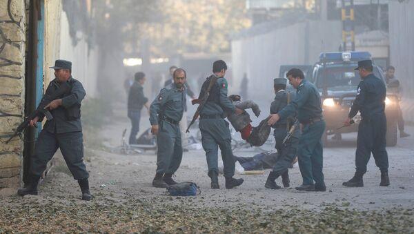 Əfqanıstanın Kabil şəhərində baş verən partlayışdan sonra - Sputnik Azərbaycan