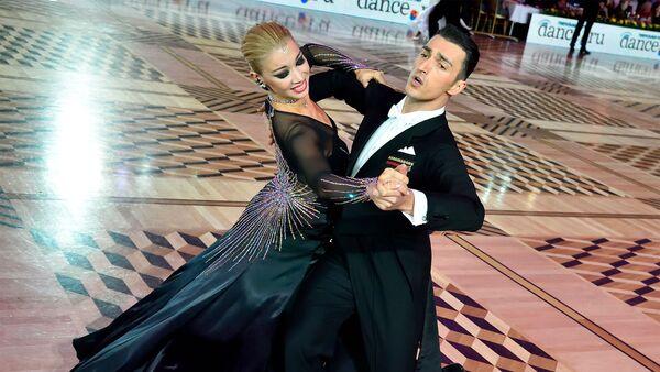 Эльдар Джафаров и Анна Сажина - Sputnik Азербайджан